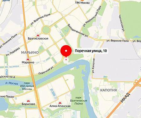 Москва, Поречная улица, д. 10