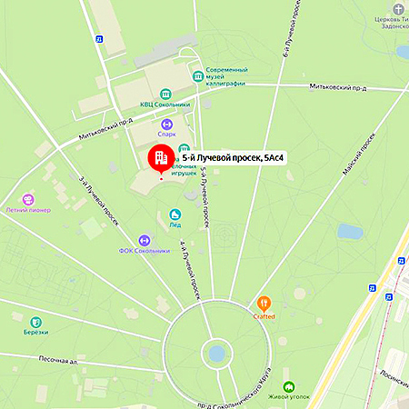 Москва, Сокольники, 2-й павильон